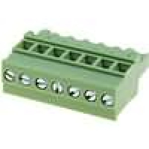 Rozpojovací svorkovnice zástrčka zásuvka úhlové 90° 5mm