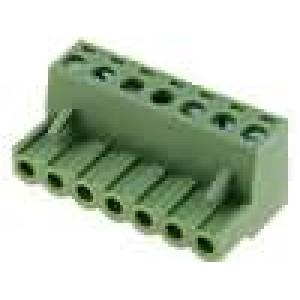 Rozpojovací svorkovnice zástrčka zásuvka přímý 5mm póly:7