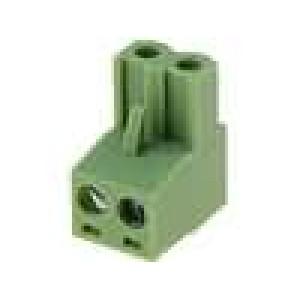 Rozpojovací svorkovnice zástrčka zásuvka přímý 5,08mm póly:2