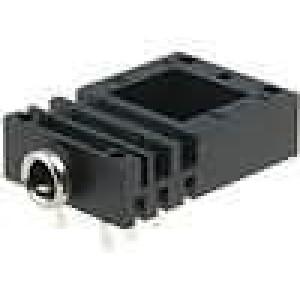 Zásuvka Jack 3,5 mm zásuvka stereo úhlové 90° na plošný spoj