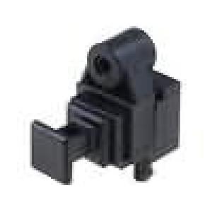 Zásuvka, světlovodný vysílač optické (Toslink) s krytkou THT