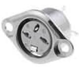 Zásuvka DIN zásuvka 3 PIN vývody 180° pájení 34V