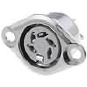 Zásuvka DIN zásuvka 5 PIN vývody 240° pájení 34V