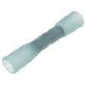 Spojka 1,5-2,5mm2 krimpovací na kabel pocínovaný modrá měď