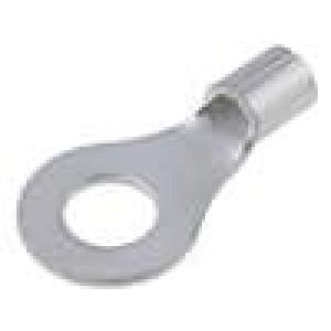 Zakončovací očko M6 3-6mm2 krimpovací na kabel neizolované