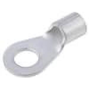 Zakončovací očko M6 13-15mm2 krimpovací na kabel neizolované