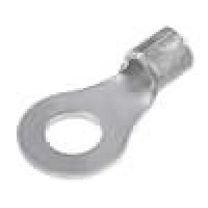 Zakončovací očko M4 1,25-2mm2 krimpovací na kabel pocínovaný