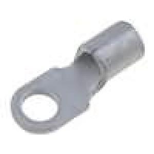 Zakončovací očko M4 2,5-6mm2 neizolované pocínovaný měď
