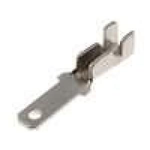 Konektor plochý 2,8mm 0,5mm kolík 0,5-1mm2 krimpovací