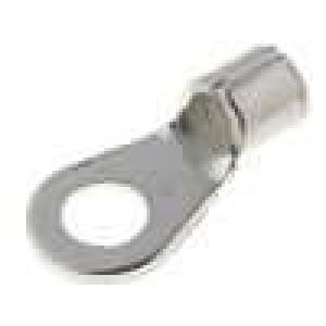 Zakončovací očko M5 4-6mm2 krimpovací na kabel neizolované