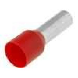 Trubičková koncovka izolovaná měď Izolace polypropylén 10mm2