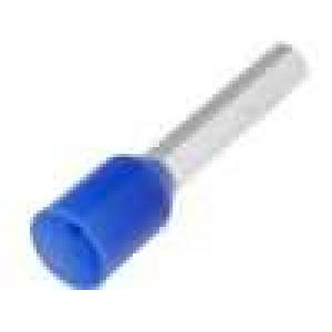 Trubičková koncovka izolovaná měď Izolace polypropylén 12mm modrá