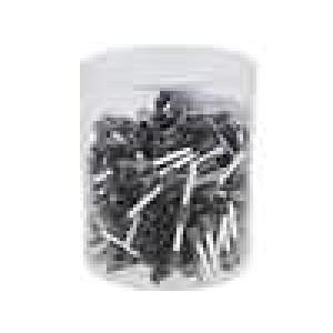 Izolovaná Sada trubičkové koncovky 4mm2 18mm barva šedá