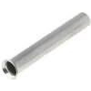Trubičková koncovka neizolované měď 1mm2 12mm pocínovaný