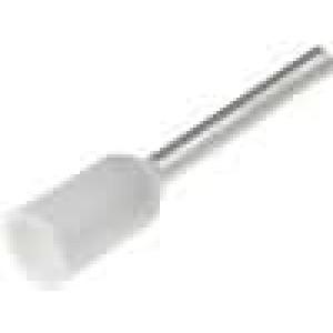 Trubičková koncovka izolovaná měď Izolace polyamid 0,5mm2