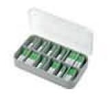 Obsah soupravy pojistky tavná 5x20mm Rozs.hodnot:100mA-6,3A