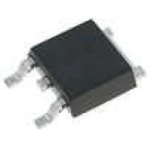 LM1117DT-ADJ/NP Stabilizátor napětí nastavitelný 1,25-13,8V 800mA SMD TO252
