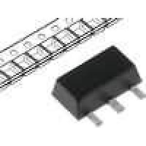 HT7550-1 Stabilizátor napětí LDO, nenastavitelný 5V 0,1A SMD SOT89