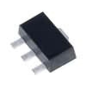 L78L33ABU Stabilizátor napětí LDO, nenastavitelný 3,3V 0,1A SMD SOT89