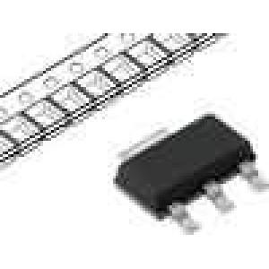 LM3940IMP-3.3 Stabilizátor napětí LDO, nenastavitelný 3,3V 1A SMD SOT223