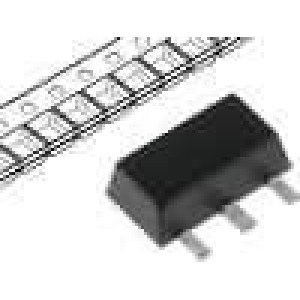 MCP1702T5002EMB Stabilizátor napětí nenastavitelný 13,2V 5V 250mA SMD SOT89
