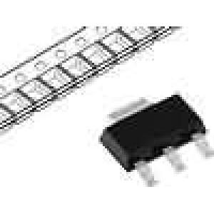 MCP1826S-3302ED Stabilizátor napětí nenastavitelný 6V 3,3V 1A SMD SOT223-3