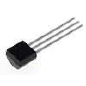 MCP101-450DI/TO Obvod dohledu push-pull 4,50 V Aktivní úroveň vysoká TO92