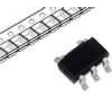MCP1318T-46LT Obvod dohledu push-pull, push-pull 4,49 V SOT23-5 1-5,5V 1uA