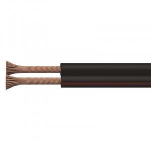 Dvojlinka ECO 2x1,5mm, černo/rudá,