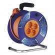 PVC prodlužovací kabel na bubnu - 4 zásuvky 25m SCHUKO