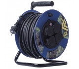 Gumový prodlužovací kabel na bubnu 25M 4Z SCHUKO 3x2,5