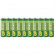 Zinkochloridová baterie GP Greencell R6 (AA) fólie