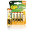 Alkalická baterie AA/LR6 1.5 V Ultra 4-blistr