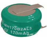 Battery pack NiMH 2.4 V 170 mAh