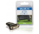Redukce HDMI vstup – DVI zásuvka, černá