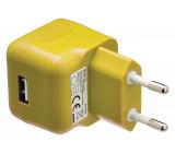 AC nabíječka USB A zásuvka – AC síťová zástrčka,