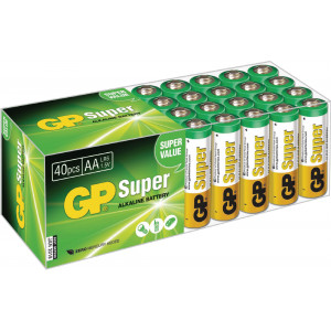 Super Alkaline box 40 AA