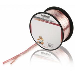 Kabel repro 2x0.4mm ofc, 100m - könig
