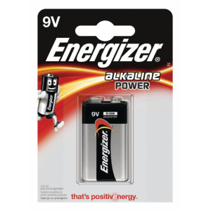 Power alkaline 9V/6LR61 1-blister