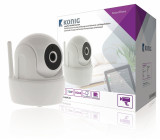 Interiérová WiFi kamera s náklonem, 720p pro SAS-CLALARM systémy