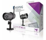 Wi-Fi venkovní kamera HD IP66, černá pro SAS-CLALARM systémy