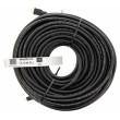 High Speed HDMI™ kabel s ethernetem a konektory HDMI™ – HDMI™, 30.0 m černý