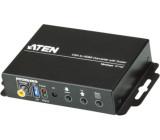 Konvertor VGA na HDMI s funkcí změny měřítka