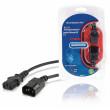 Prodlužovací kabel IEC C13, konektor IEC-320-C14 - IEC-320-C13, 5,0 m, černý