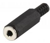 3.5 mm mono jack line socket