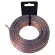 Kabel Reproduktoru na Cívce 2x 1.50 mm² 10.0 m Transparentní