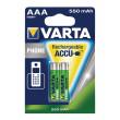 Dobíjecí NiMh Baterie AAA 1.2 V 550 mAh 2-Blistr