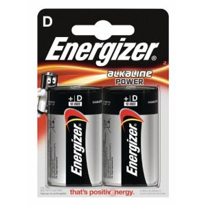 Alkalická Baterie D 1.5 V Power 2-Blistr