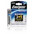 Lithiová Baterie AAA 1.5 V Ultimate 4-Propagační Blistr