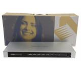 HDMI Přepínač 8x HDMI Vstup + RS232 Zásuvka - HDMI Výstup Stříbrná